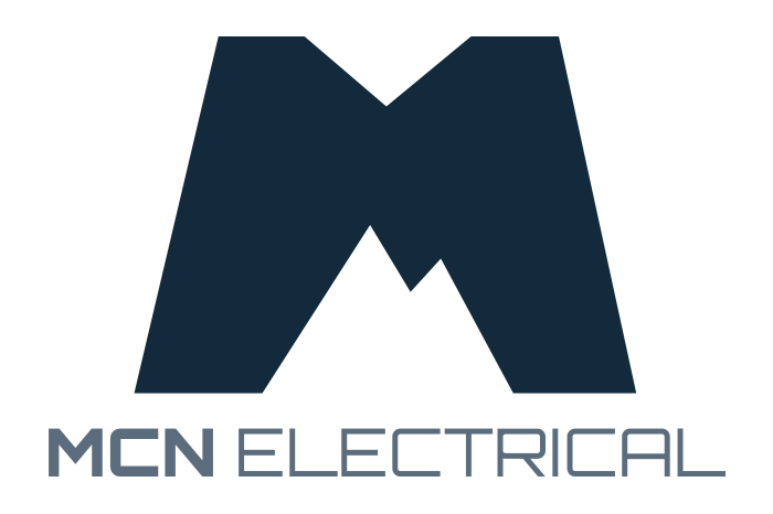 Mcn electrical spark design web design digital marketing horizontal version of mcn electrical logo business card front colourmoves