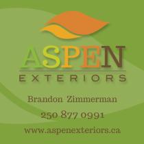 Aspen Exteriors Business Card
