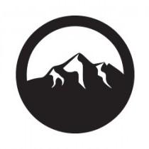 Circular logo icon