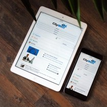 Responsive Design on Monitor Tablet & Mobile